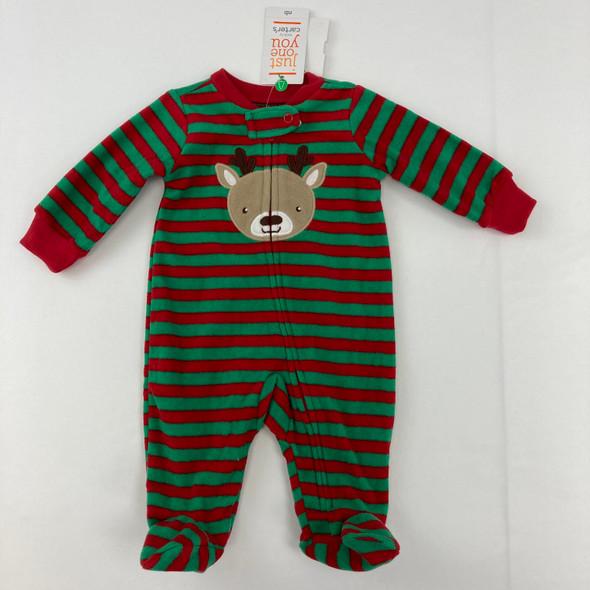 Reindeer Zipper Up Newborn