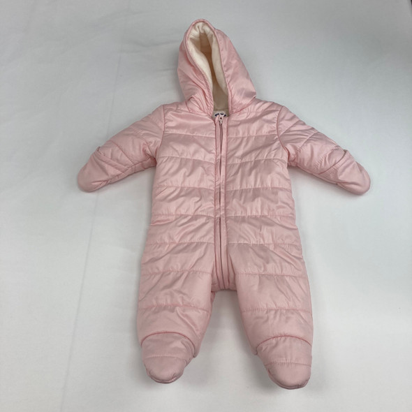 Baby Pink Snow Suit 3-6 mth
