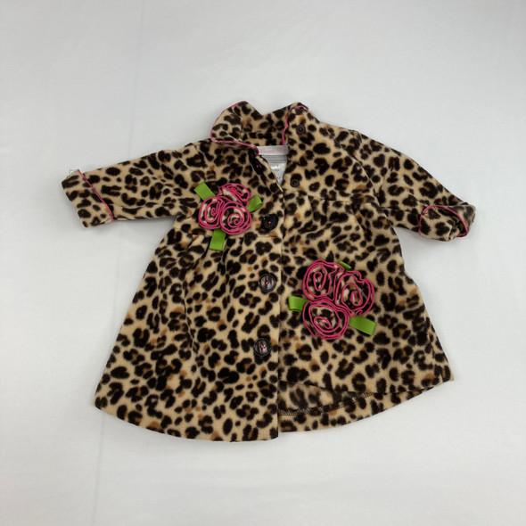 Cheetah Print Jacket 3-6 mth