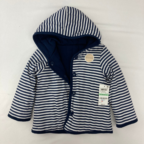 Striped Reversible Jacket 18 mth