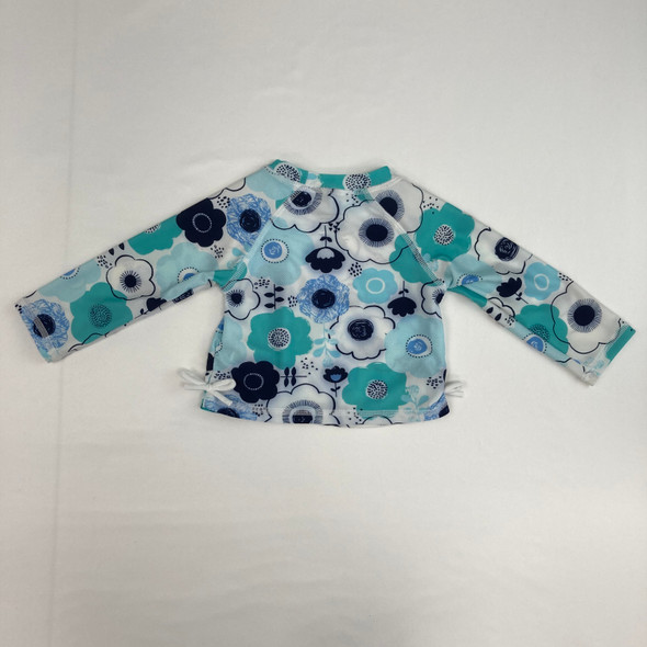 Flower Bow Swim Shirt 6-9 mth
