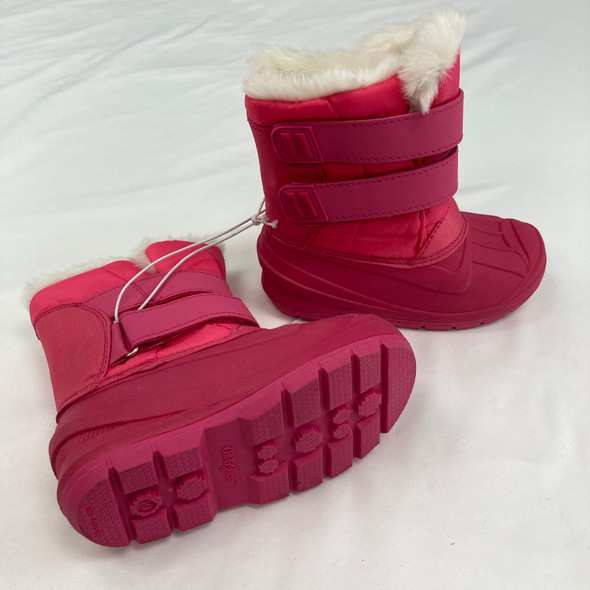 Bright Pink Snow Boots Size 10