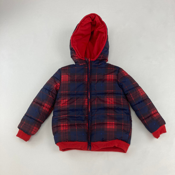 Checkered Jacket 4T