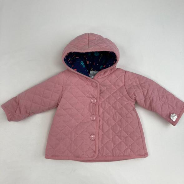 Bubblegum Pink Jacket 0-3 mth