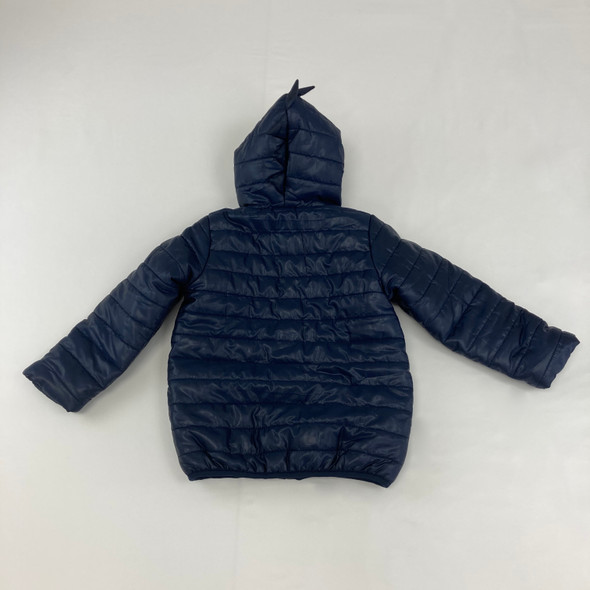 Navy Blue Dinosaur Jacket 4