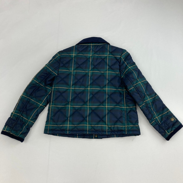 Checkered Button Down Jacket 6X