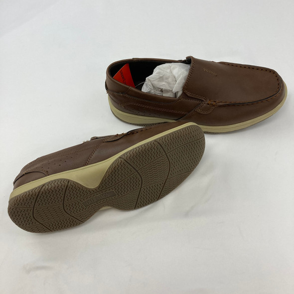 Chocolate Slip-On Shoes Size 6