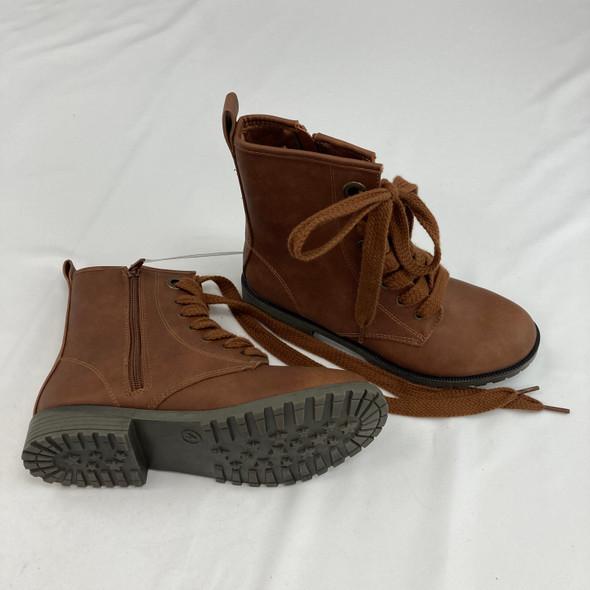 Chestnut Tie Boot Size 4