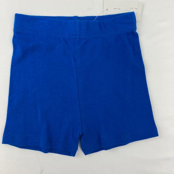 Blue Sleeping Shorts 4 yr