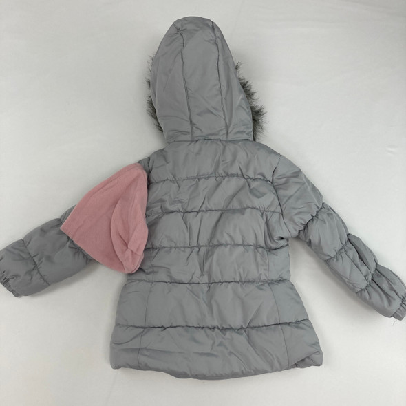 Furry Puffy Jacket 5T