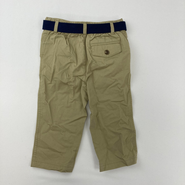 Belted Khakis 12 mth