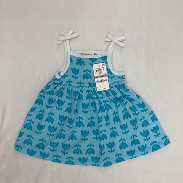 Blue Tulips Dress 6-9 mth