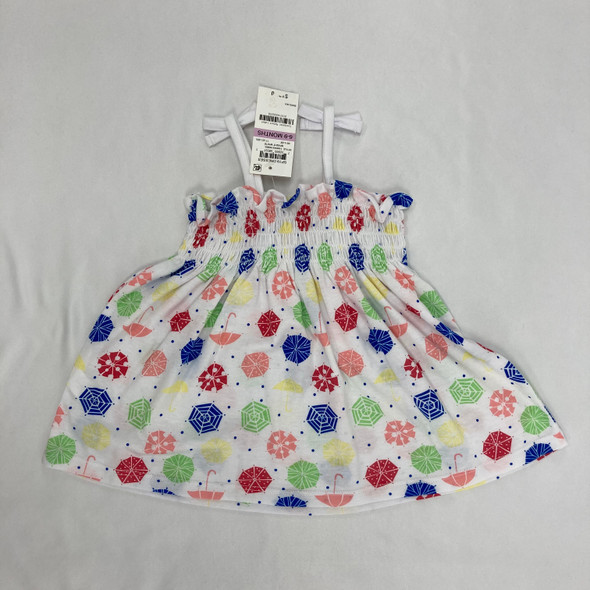 Colorful Umbrella Dress 6-9 mth