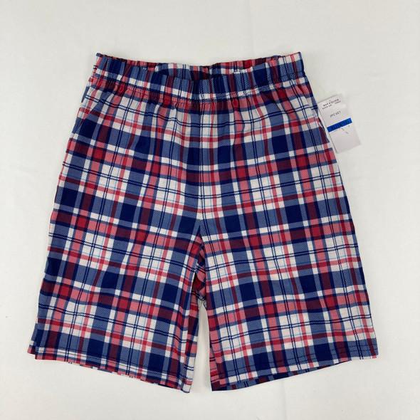 Blue Plaid Shorts XL