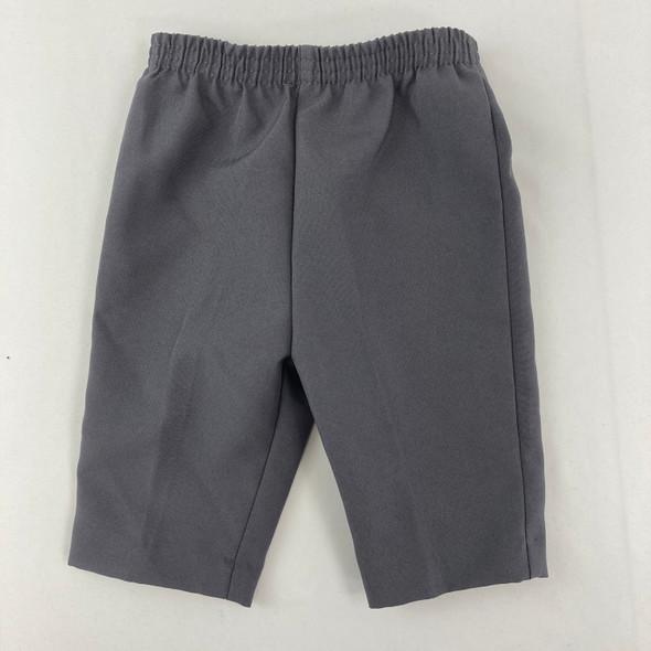 Gray Dress Pants 3-6 mth
