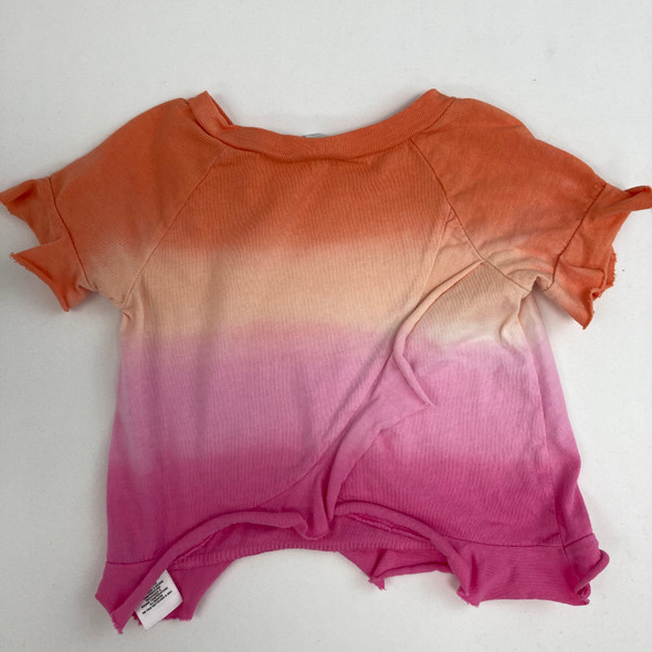 Orange And Pink Tee 3-6 mth