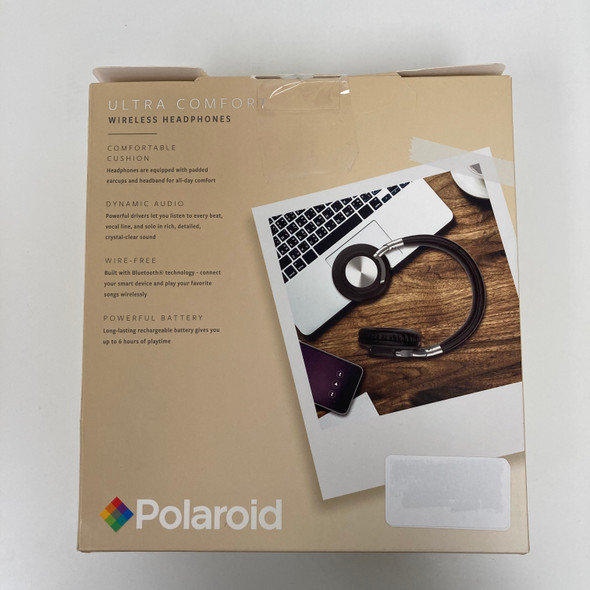 Black Ultra Comfort Wireless Headphones E