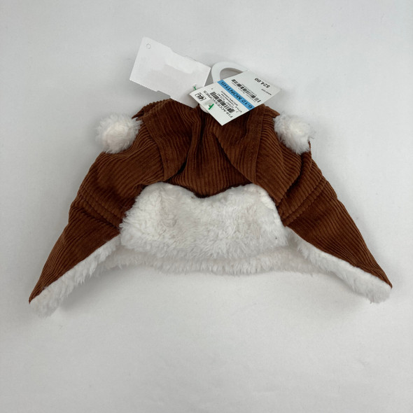 Cozy Brown Hat 6-12 mth