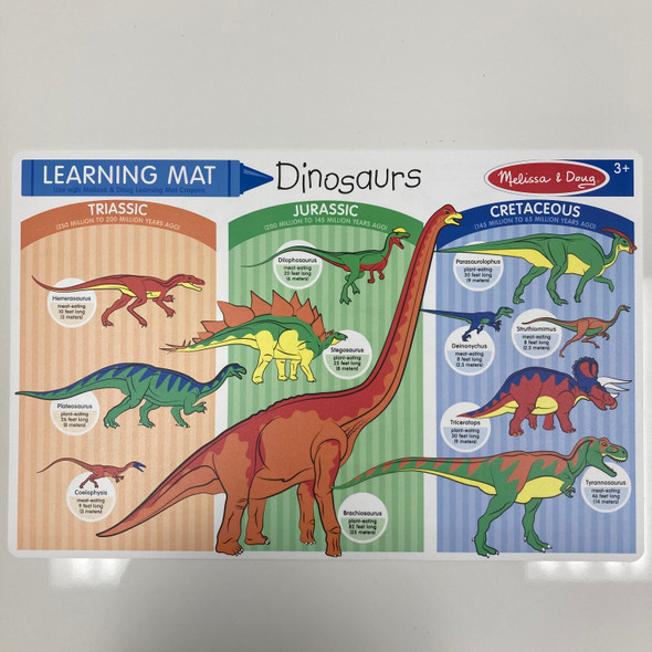 Learning Mat: Dinosaurs