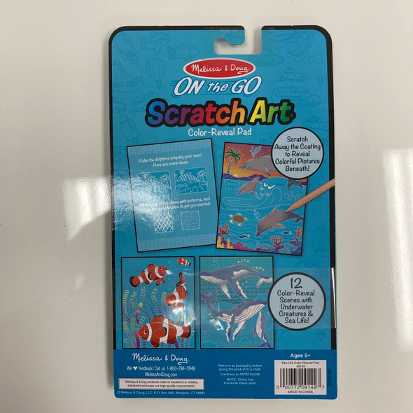 Sea Life Color-Reveal Pad