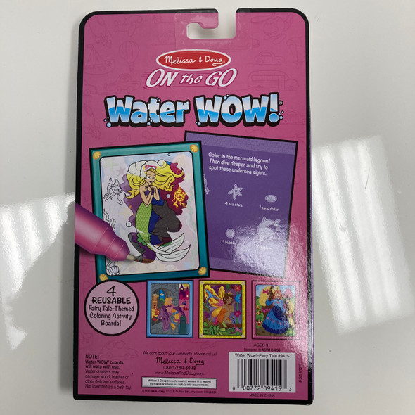 Fairy Tale Water-Reveal Pad