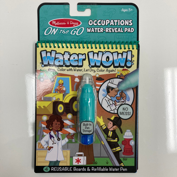 Occupations Water-Reveal Pad