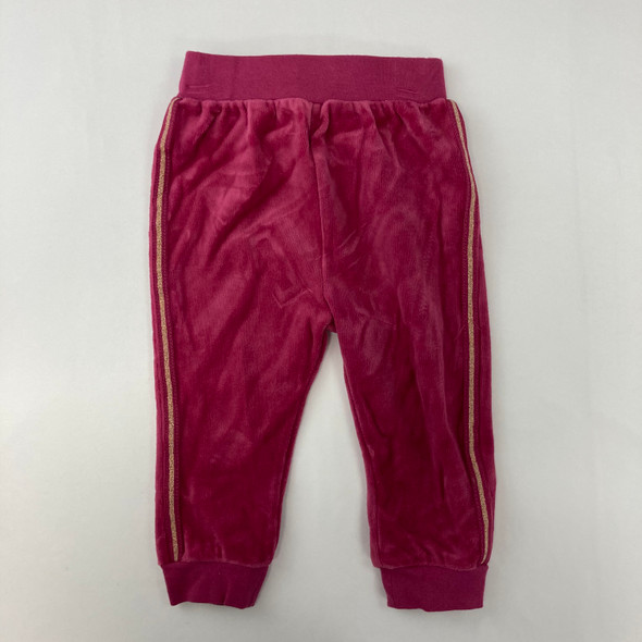 Pink Gold Joggers 18 mth