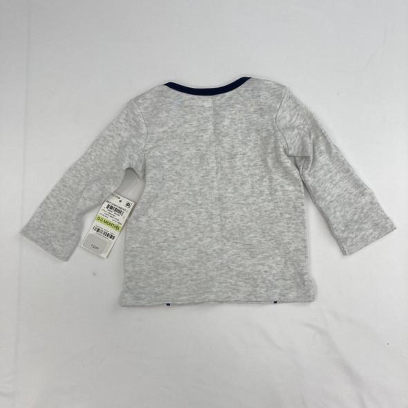 Bear Shirt 0-3 mth