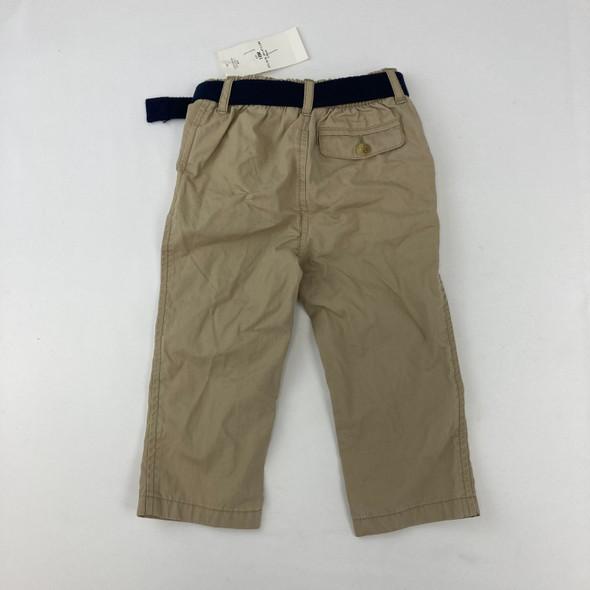 Belted Khaki Pants 18 mth