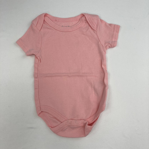 Solid Pink Top 6-9 mth