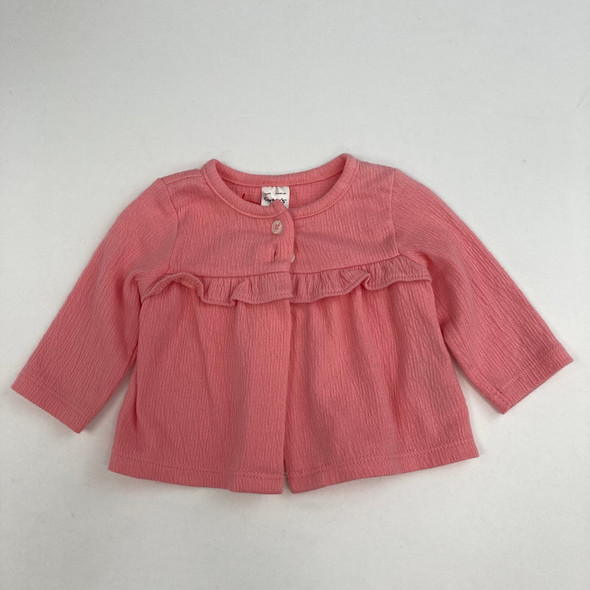 Solid Pink Sweater Newborn