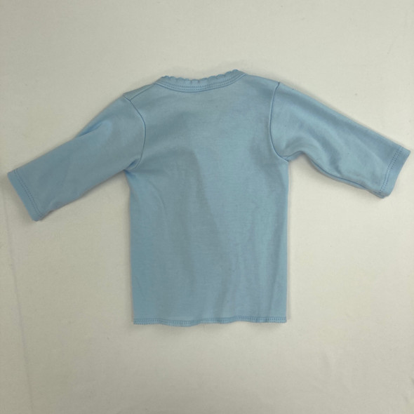 Solid Baby Blue Sweater 0 mth