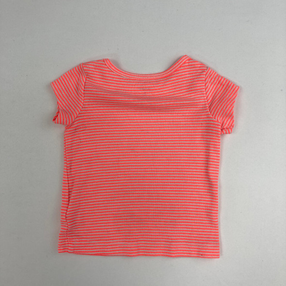 Neon Striped Top 3 mth