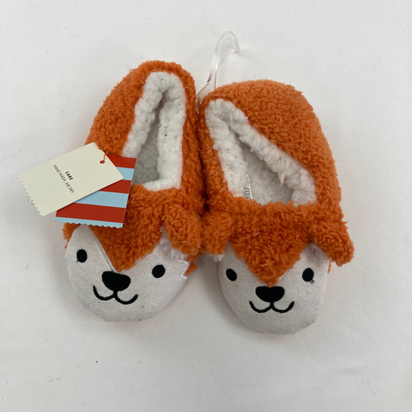 Fox Slippers Shoe Size 2T-3T