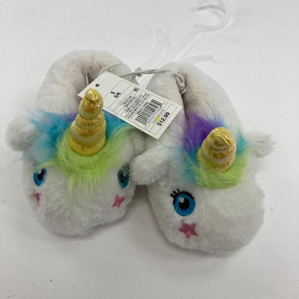 Unicorn Slippers Shoe Size 5-6