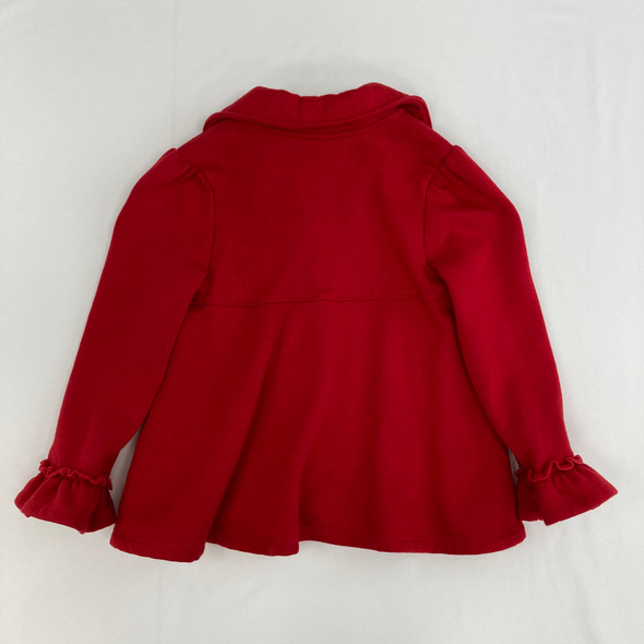 Heart Button-up Coat 6 yr