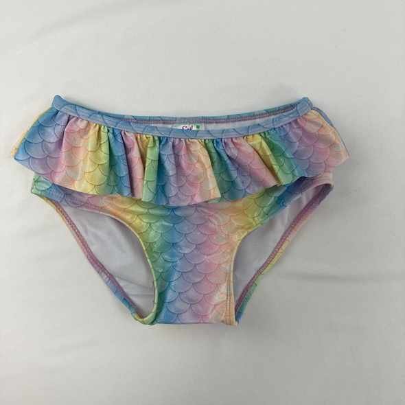Colorful Scales Swim Bottoms 6 yr