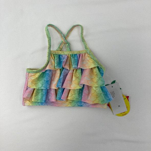 Colorful Scales Swim Top 2T