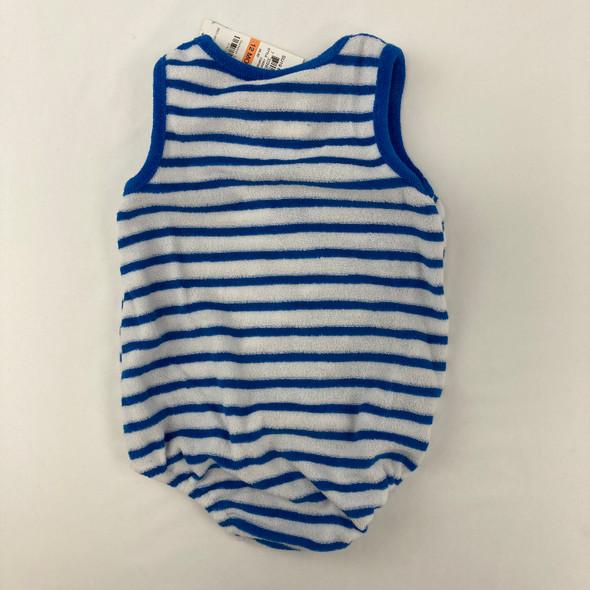 Caribe Blue Striped 1-pc 12 mth A
