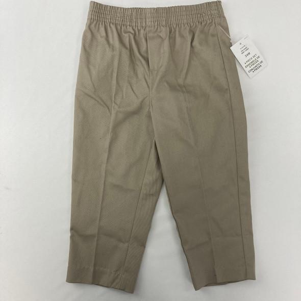 Khaki Dress Pants 24 mth