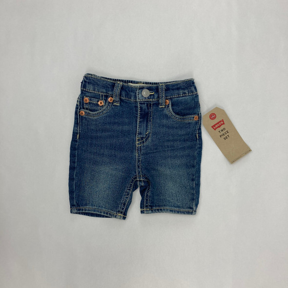 Denim Shorts 6-9 mth