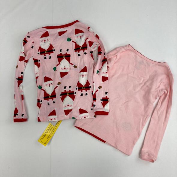 2 Santa Top Sleepwear 3T