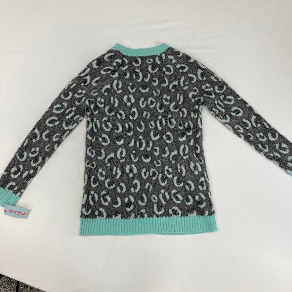 Animal Print Sweater XL