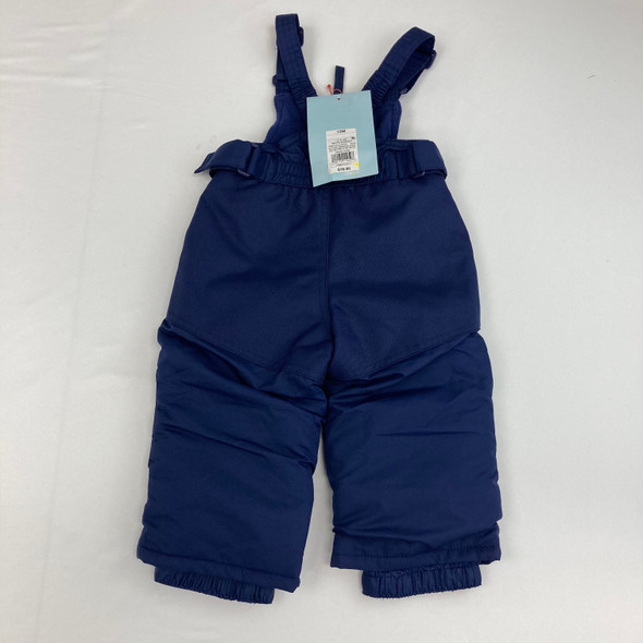 Navy Snow Pants 12 mth