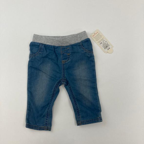 Denim Pants 3-6 mth