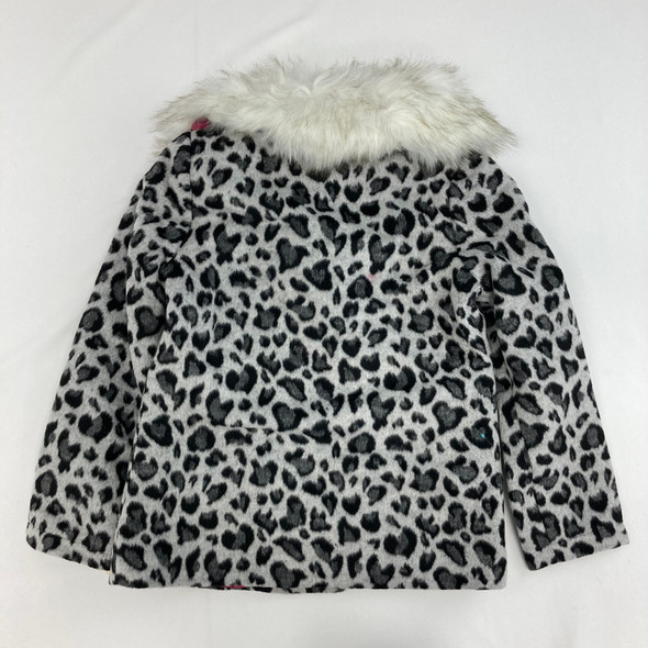 Animal Print Jacket Medium