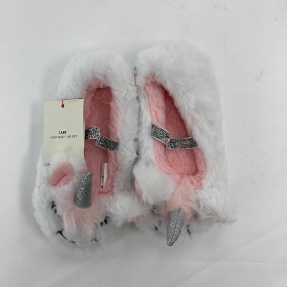 Unicorn Slippers 2T-3T