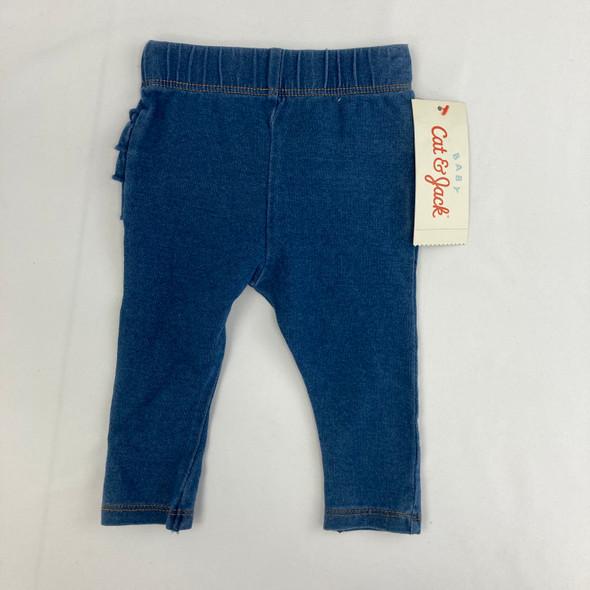Ruffle Faux Jeans NB