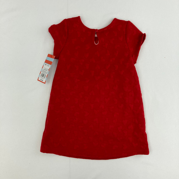 Heart Stitched Dress 18 mth
