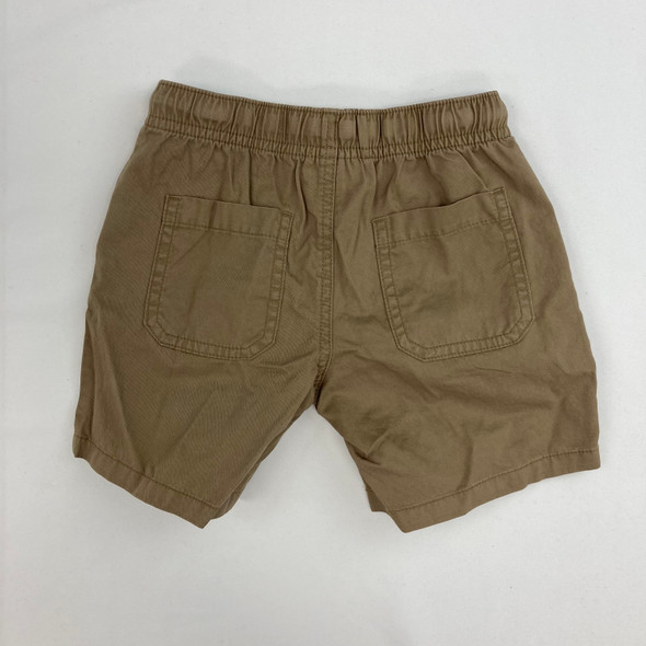 Drawstring Khaki Shorts 4T